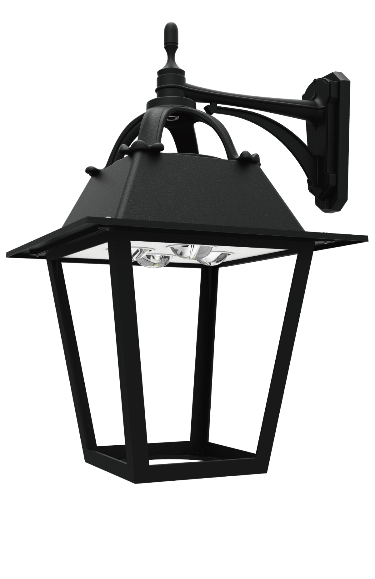 Led pt 713 series led post top lantern light fixtures Popular light fixtures 2017