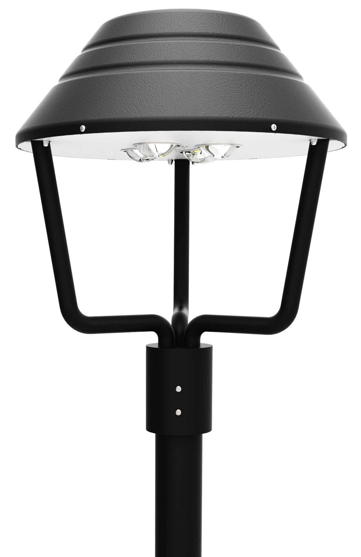 Led post top light fixtures led outdoor light fixtures for Luminaire outdoor
