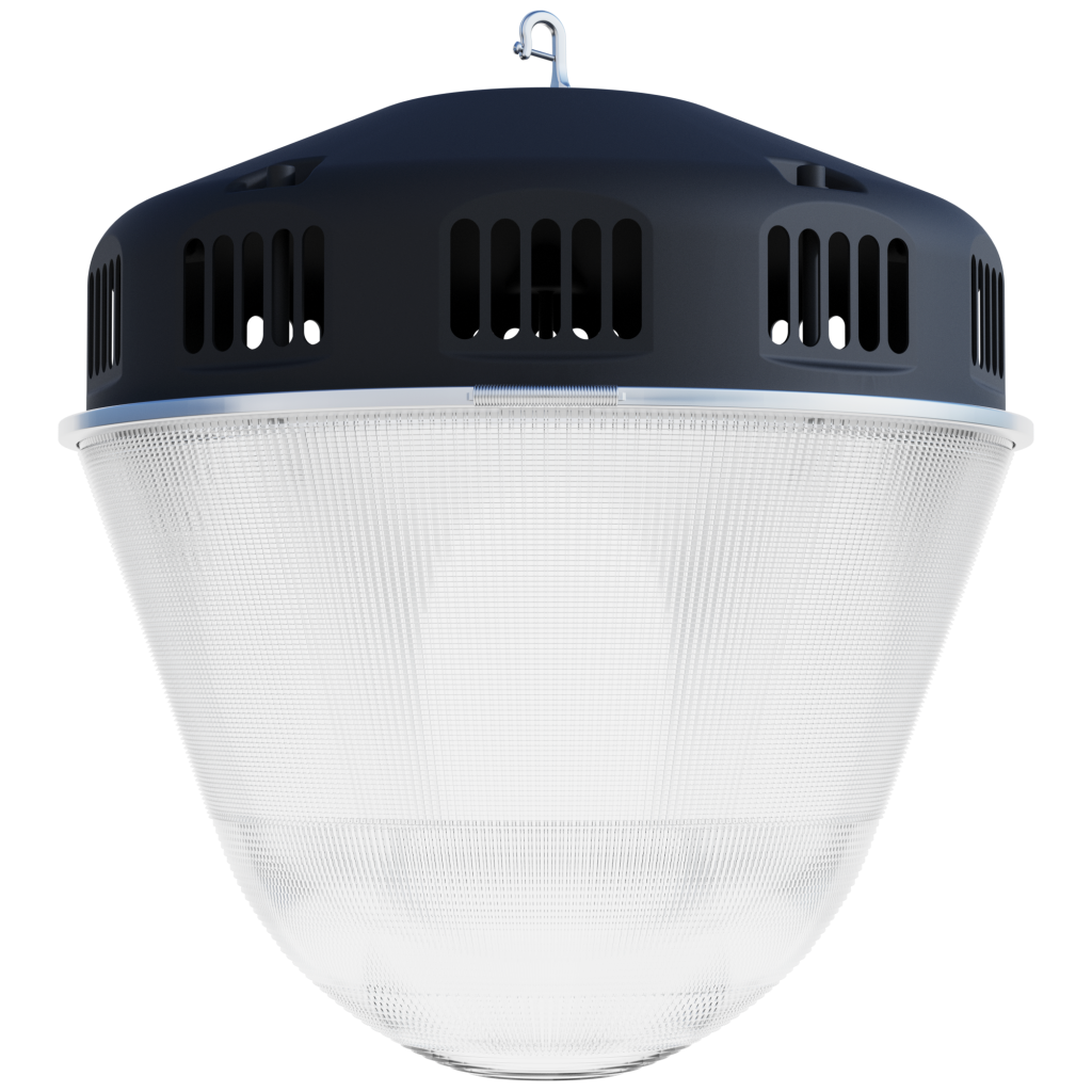 Led high bay low bay light fixtures duke light co ltd led hb 6001 series 23 acorn pendant 480w600w arubaitofo Image collections