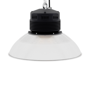 LED-LB-2003-PC-RF-PC-19IN-90D-200 Series, 120W, 150W. 19 Inch 90 Degree PC Reflector. Duke Light High Bay and Low Bay lights are engineered with rugged steel or cast aluminum housings and are damp rated for outstanding reliability in warehouses, storage facilities, retail and light industrial locations with 12 to 60 foot ceiling heights.