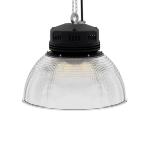 LED-LB-2001-PC-RF-PC-16IN-60D-200 Series, 30W, 40W, 50W, 60W, 80W. 16 Inch 60 Degree PC Reflector. Duke Light High Bay and Low Bay lights are engineered with rugged steel or cast aluminum housings and are damp rated for outstanding reliability in warehouses, storage facilities, retail and light industrial locations with 12 to 60 foot ceiling heights.