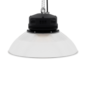 LED-LB-2001-PC-RF-PC-19IN-90D-200 Series, 30W, 40W, 50W, 60W, 80W. 19 Inch 90 Degree PC Reflector. Duke Light High Bay and Low Bay lights are engineered with rugged steel or cast aluminum housings and are damp rated for outstanding reliability in warehouses, storage facilities, retail and light industrial locations with 12 to 60 foot ceiling heights.