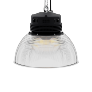 LED-LB-2002-PC-RF-PC-16IN-60D-200 Series, 80W, 100W, 120W. 16 Inch 60 Degree PC Reflector. Duke Light High Bay and Low Bay lights are engineered with rugged steel or cast aluminum housings and are damp rated for outstanding reliability in warehouses, storage facilities, retail and light industrial locations with 12 to 60 foot ceiling heights.