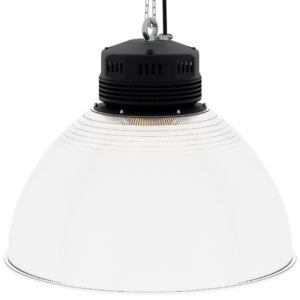 LED-LB-2002-PC-RF-PC-22IN-60D-200 Series, 80W, 100W, 120W. 22 Inch 60 Degree PC Reflector. Duke Light High Bay and Low Bay lights are engineered with rugged steel or cast aluminum housings and are damp rated for outstanding reliability in warehouses, storage facilities, retail and light industrial locations with 12 to 60 foot ceiling heights.