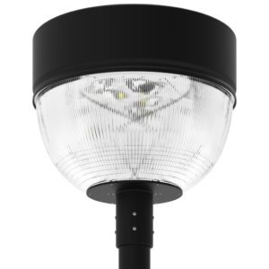 LED-AREA-1911 Series, 19 Inch Round LED Area Post Top Lighting Fixtures - 60 Watts, 80 Watts, 100 Watts, 120 Watts, 150 Watts, 180 Watts, 200 Watts, 240 Watts, 320 Watts, 2700K 3000K 4000K 5000K 5700K 6000K, 120VAC, 277VAC, 347VAC, 380VAC, 480VAC, 500VAC